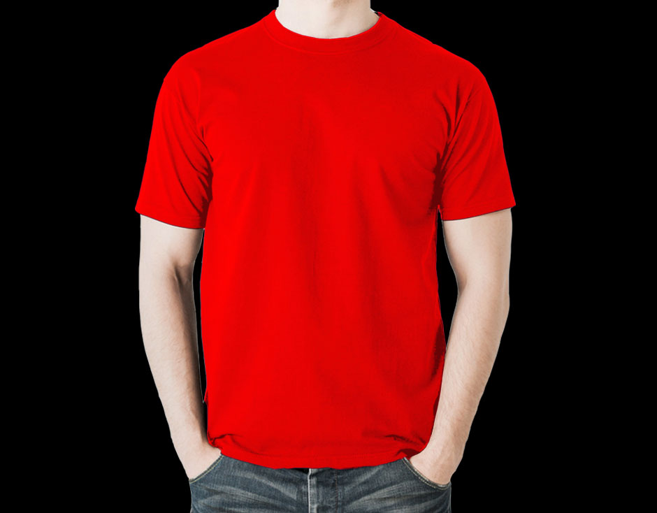 Red Color - T-shirt