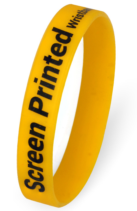 Printed Wristbands - Screen Printed