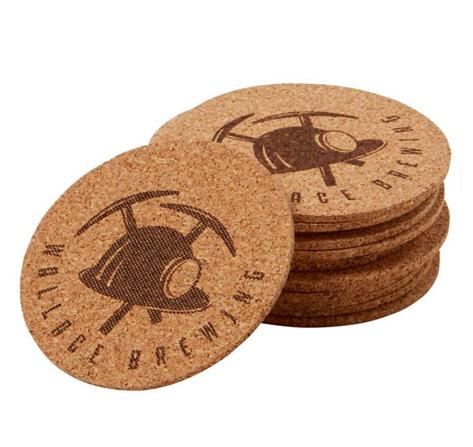 Circle Cork Coaster