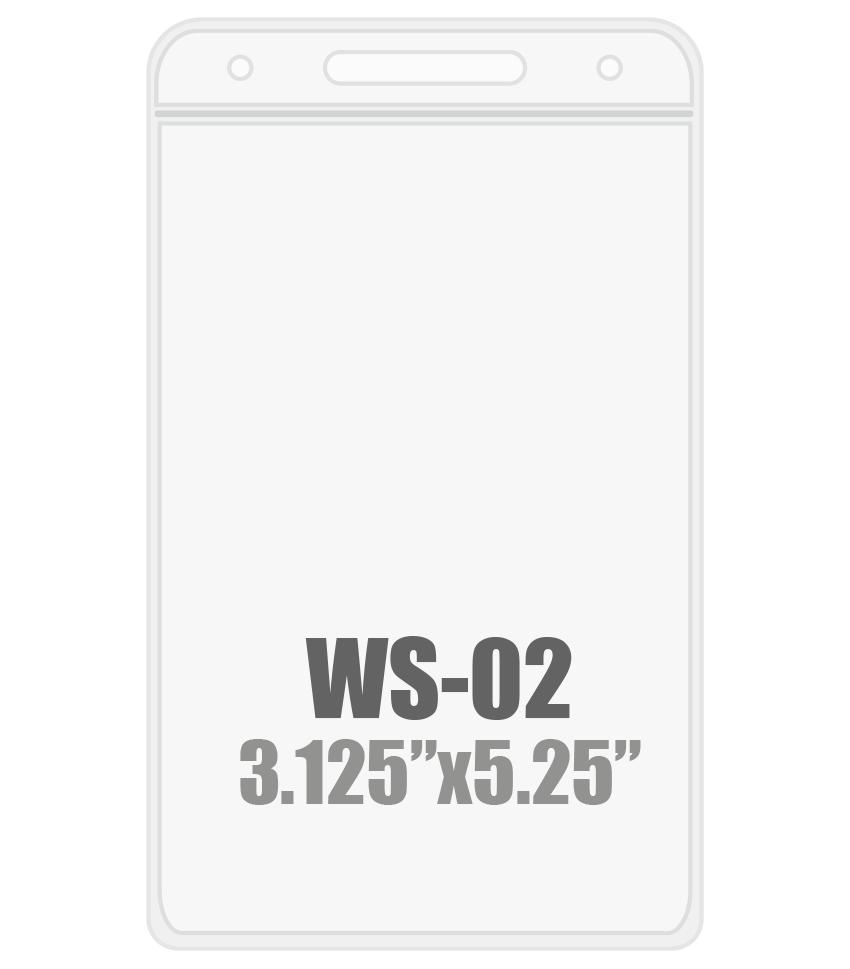 3W x 5.25H (WS-02)