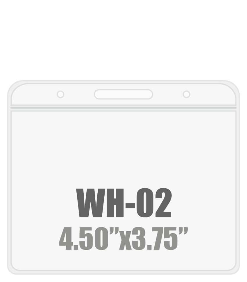 4.5W x 3.75H ( WH-02 )