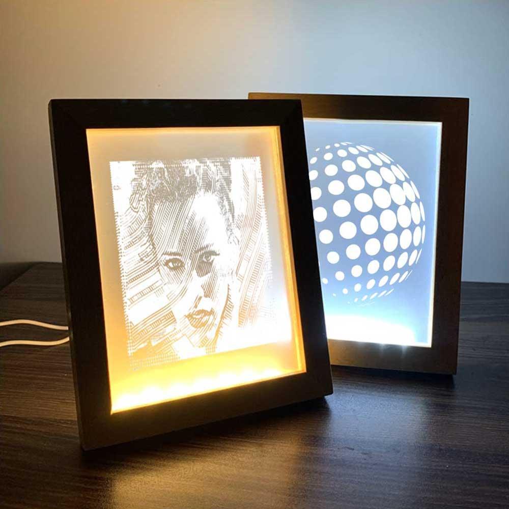 LED Acrylic Photo Frame