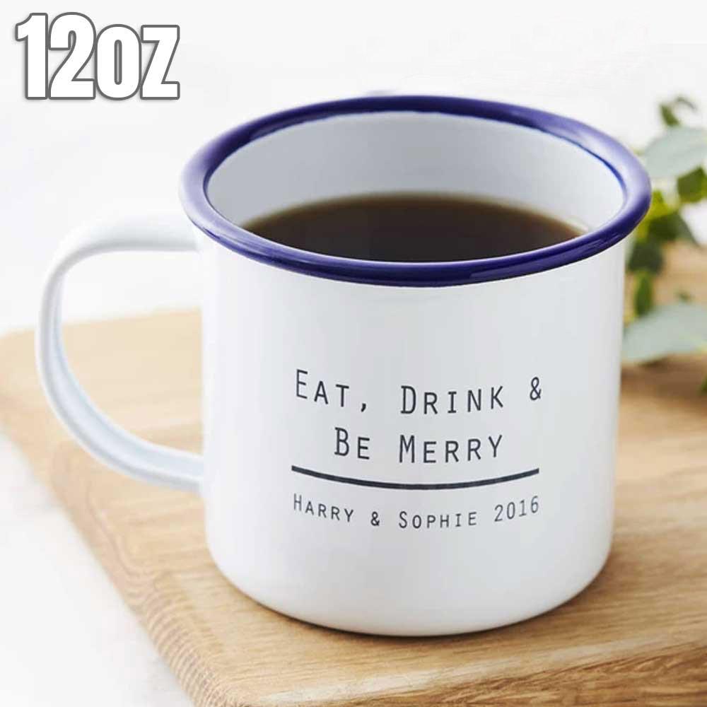 12oz Enamel Mug
