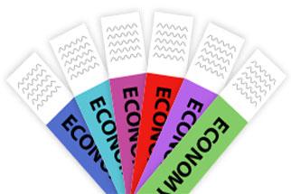 Economy Tyvek - Black Printed