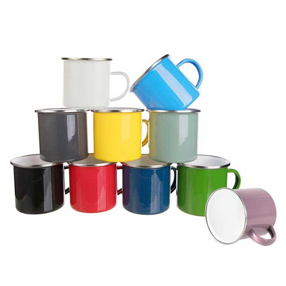 12oz Enamel Blank Mug